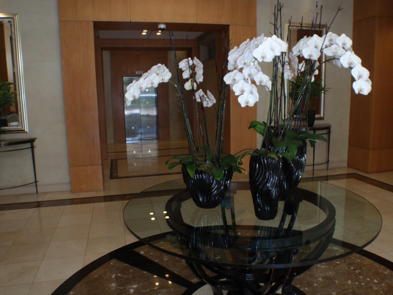 Lobby of the Grand  in Century City,CA by Endre Barath,JR