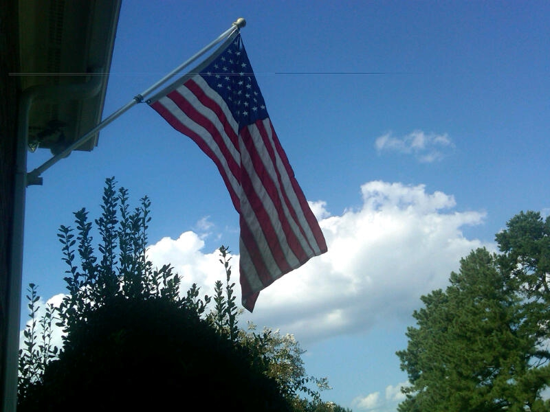 remembering 911 - fly your flag!