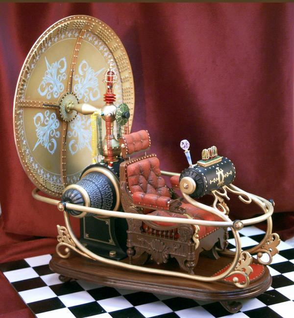 the idea of time travel in the time machine by hg wells