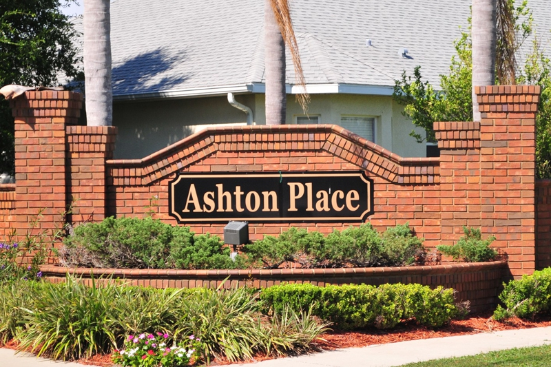 Entrance Ashton Place St Cloud, Florida Real Estate Homes For Sale