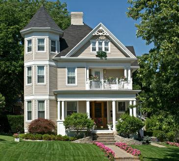 Day 84 100 days of central mass features victorian home - Types of victorian homes ...