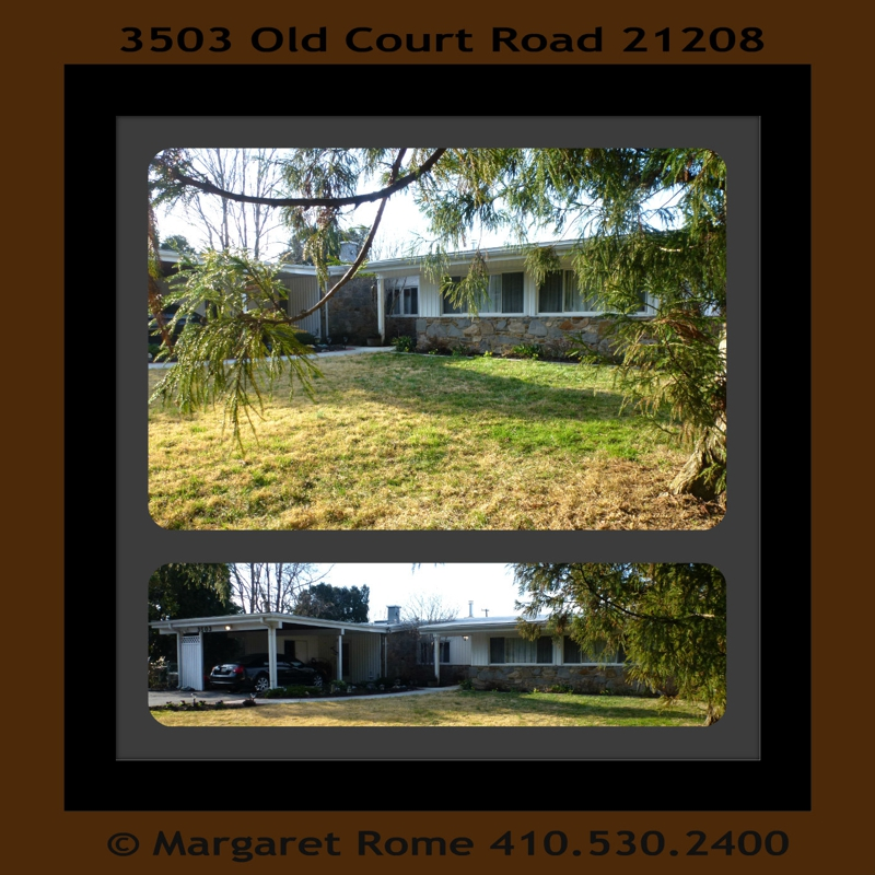 3503 Old Court Rd HomeRome Realty 410-530-2400