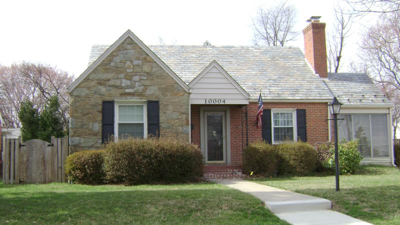 Brick Slate & Stone House in South 4 Corners Silver Spring