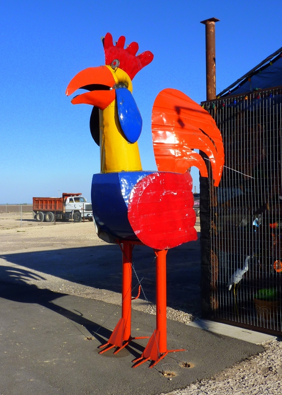 Where is this chicken located?  Mike in Tucson, AZ mortgage lender