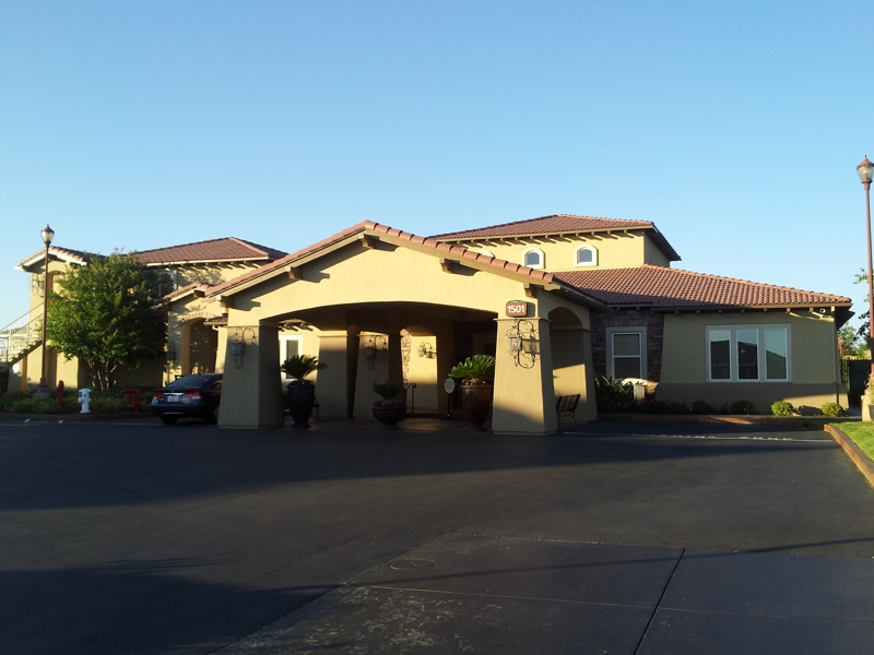Clubhouse at The Phoenician Condominiums in Roseville, CA