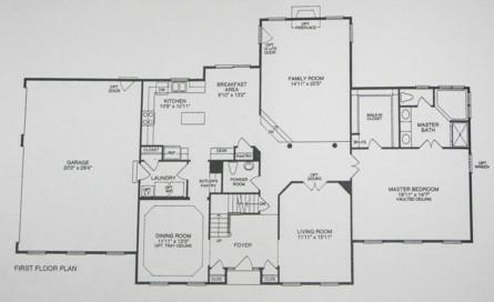 First floor master bedrooms floor plans not as easy as - First floor master bedroom house plans ...