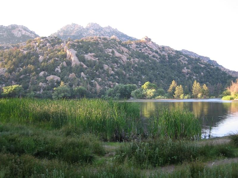 Granite Basin Lake in Prescott National Forest near Prescott, Arizona