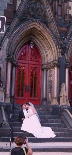 Wedding at the Cathedral HomeRome Realty