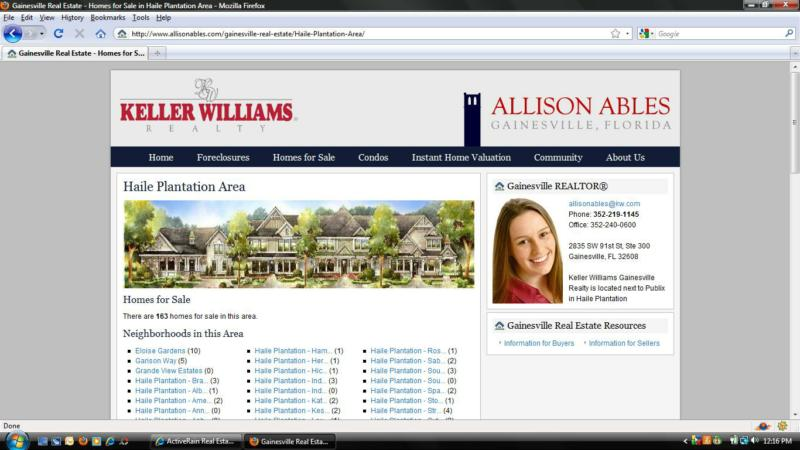 Homes for Sale in Haile Plantation