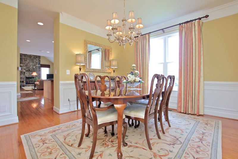 3807 Bell Manor Ct Falls Church Virginia Dining Room