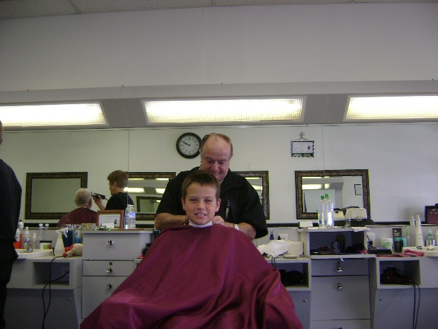 Father And Son Head To Best Barber Shop In Scottsdale Arizona