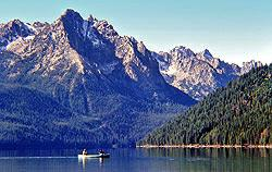 nearby attraction - redfish lake