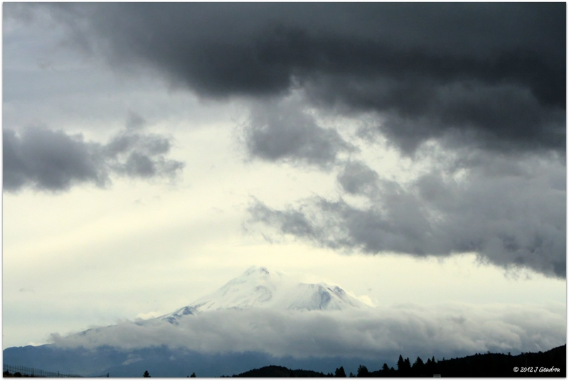 Visiting Mount Shasta - Jeanean Gendron