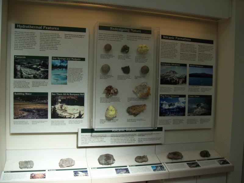 Lassen Geologic Display