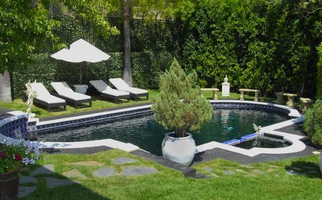 Sparkling Pool in Encino