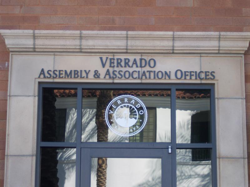 Verrado Assembly & Association Offices on Main Street in Verrado Buckeye Arizona