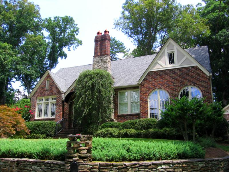 Morningside atlanta real estate tudor style home for sale for Tudor style house for sale