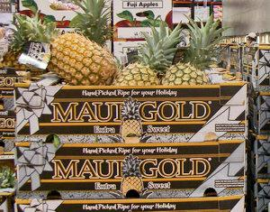 pineapples on Maui at Costco