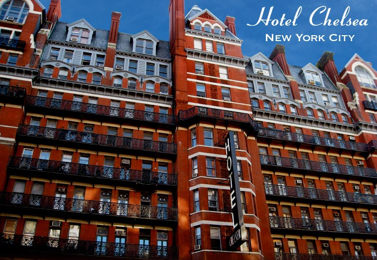 Hotel Chelsea, manhattan