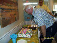 Ed Ball 80th birthday