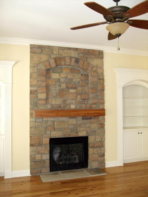 Fireplace Surrounds and Mantles - Stone Fireplace