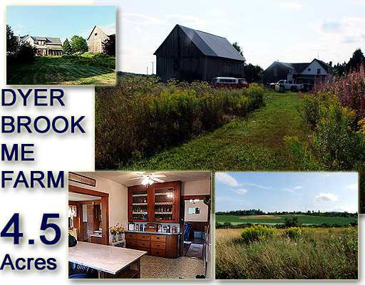 Maine Farms For Sale..Two To Pick From...One $70's, Other ...