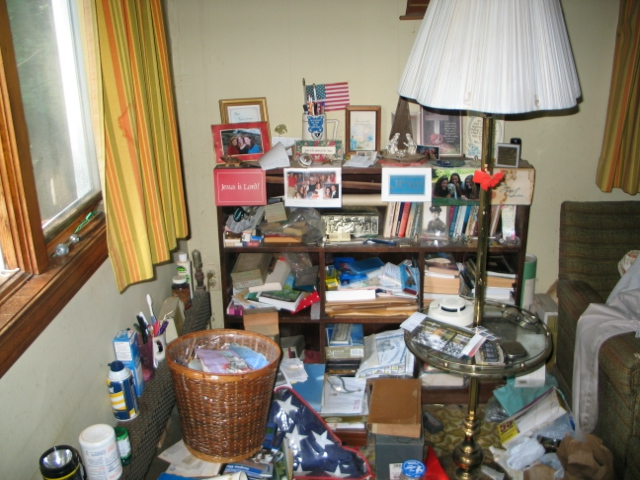 Greenwich, CT cluttered home
