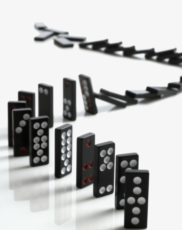 Domino effect in real estate