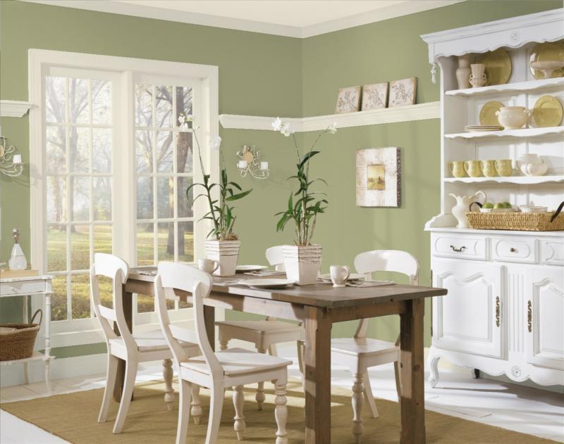 Benjamin Moore Sage Green Paint