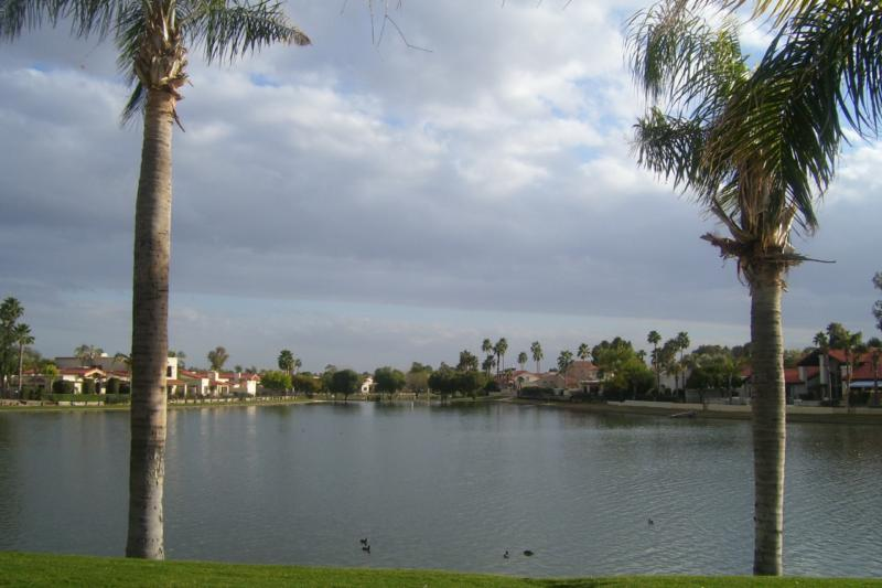 Lake Angela in McCormick Ranch