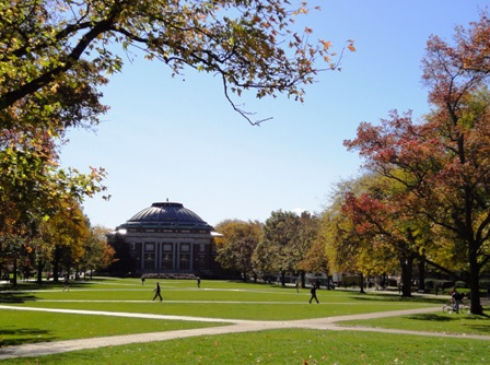 The Quad, University of Illinois Champaign Urbana