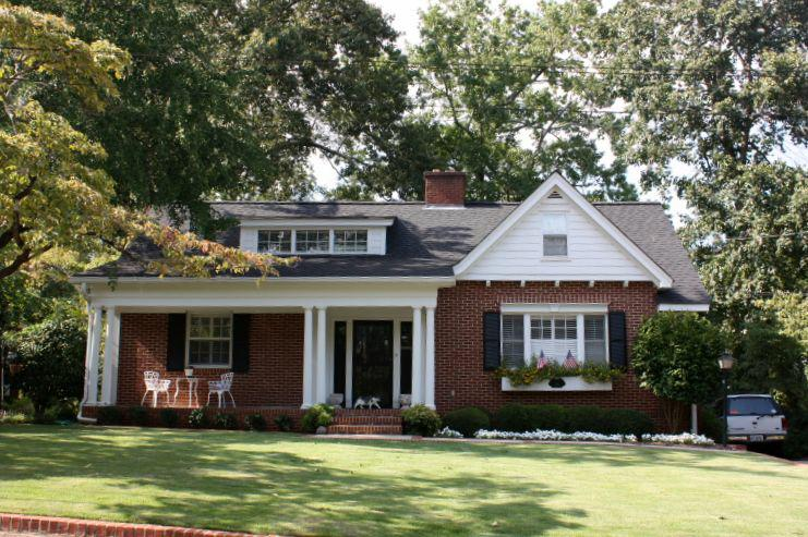 A 5 Points home - examples of architecture in Athens, GA - from Michelle DeRepentigny, Broker of Success Realty