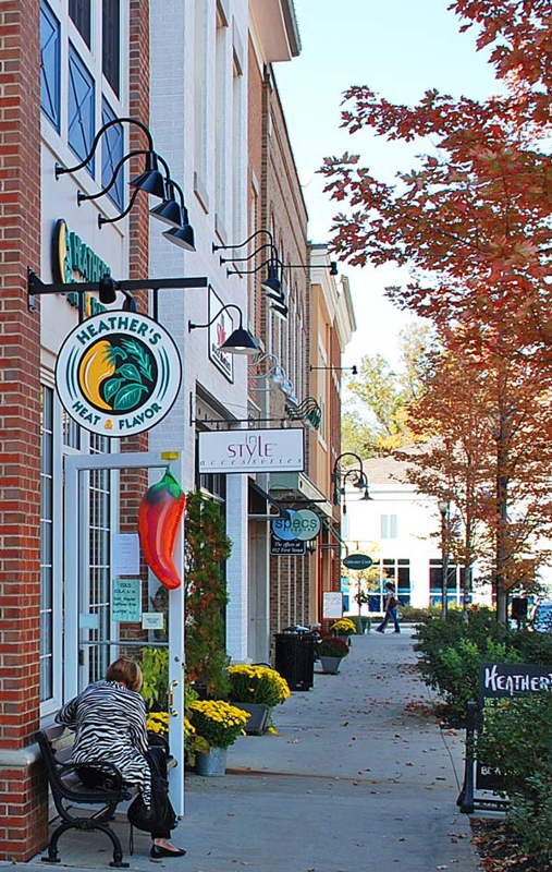 Hudson Ohio First and Main Upscale Shopping Dining