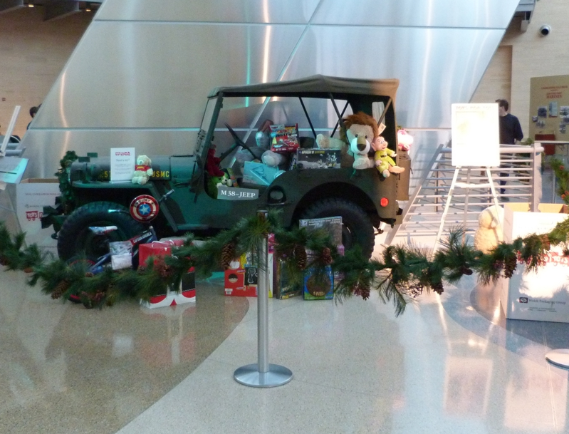 Toys for Tots at National Museum of the Marine Corps