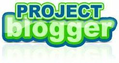 project blogger logo