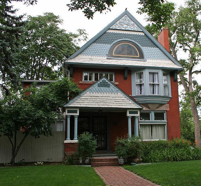 Historic Homes Of Denver: Neighborhood Series, Capitol