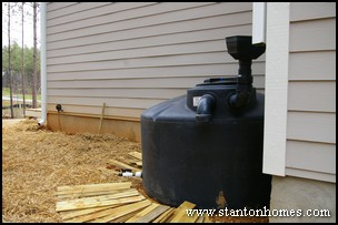 Rainwater collection options saving water in your new home for Home rainwater collection