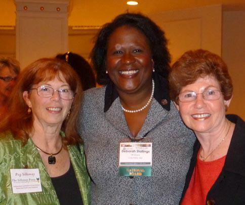 Peg Silloway, Deborah Stallings, Margaret Rome