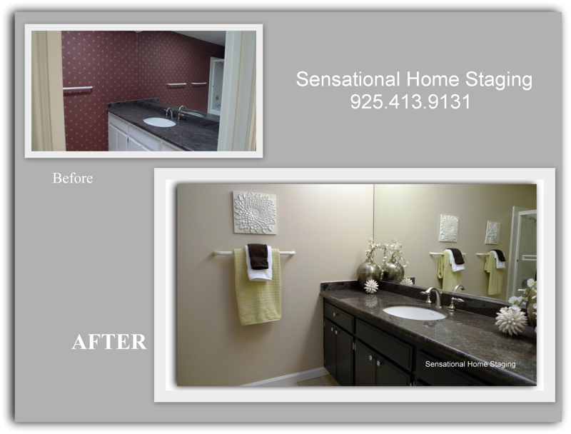 East Bay Home Staging ~~ How to Update Your Bathroom on a Budget!