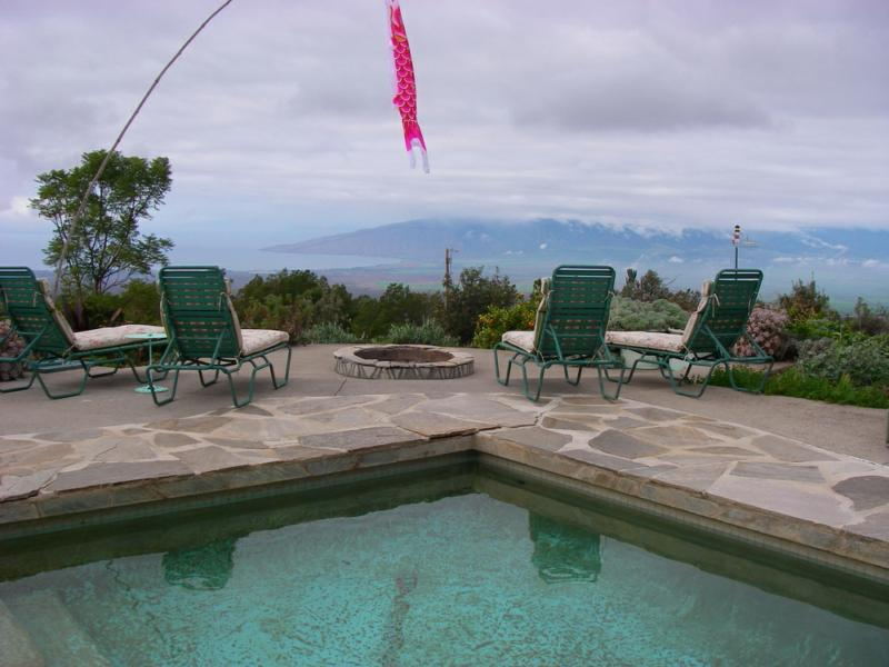 Kula Maui home for sale with pool and ocean views