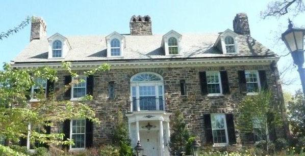 Classic stone home in Guilford HomeRome.com