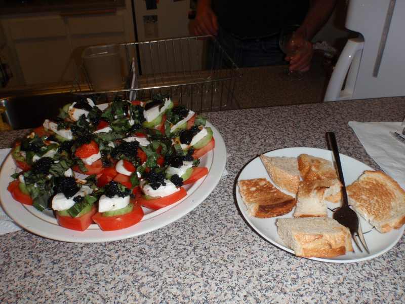 Endre Barath's version of Insalata Caprese