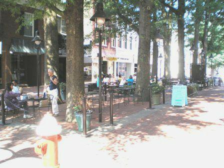 Charlottesville Downtown Mall