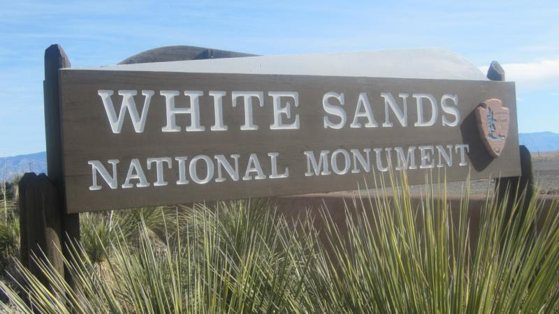 white sands nat monument