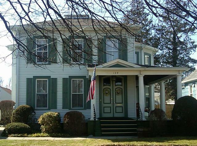 Historic italianate home for sale on binghamton 39 s west side - White house green trim ...
