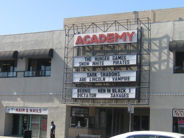 Academy Movie Theater In Pasadena
