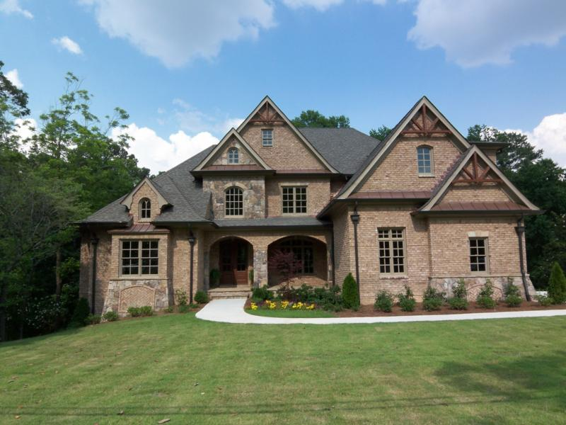Energy wise homes in ashford park for Stone french country homes