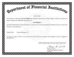 Mortgage License