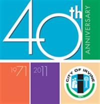IRVINE CITY 40TH ANNIVERSARY
