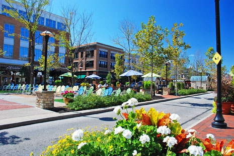 Westlake Ohio Crocker Park Upscale Retail and Dining